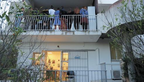 המעון החדש לנוער ברחוב שושנת הכרמל (צילום: רמי שלוש)