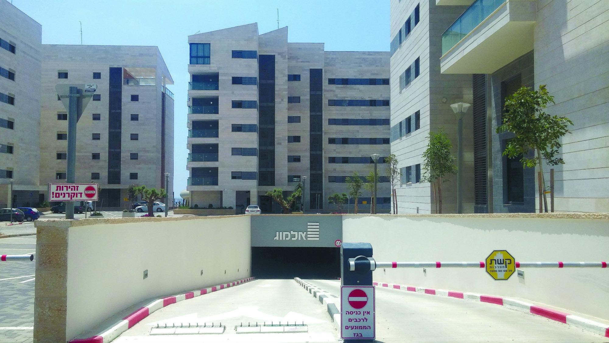 בנייה חדשה בשכונת נאות פרס (צילום: רמי שלוש)
