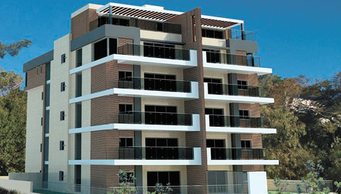 הפרויקט ברחוב אהוד 3 (הדמיה: משרד מאייר אדריכלים)