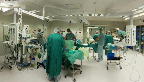 כך ייראו חדרי הניתוח החדשים במרכז הרפואי כרמל (צילום: אלי דדון)