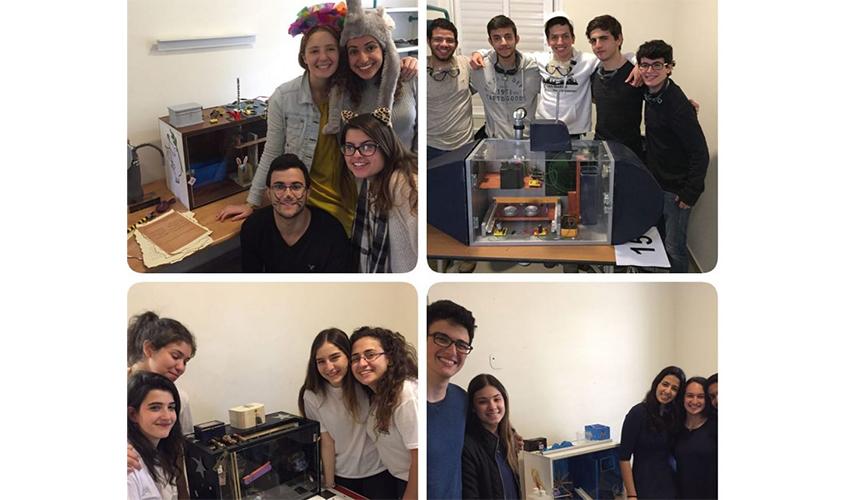תלמידי ליאו באק בטורניר הפיזיקה