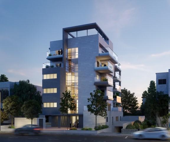 הפרויקט ברחוב מוריה 20 (הדמיה: סטודיו בונסאי)