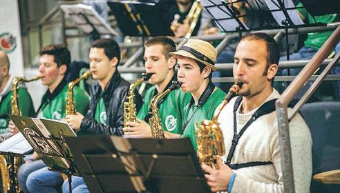 מכבי ביט בנד. תזמורת הספורט הראשונה בארץ (צילום: זיו עמר)