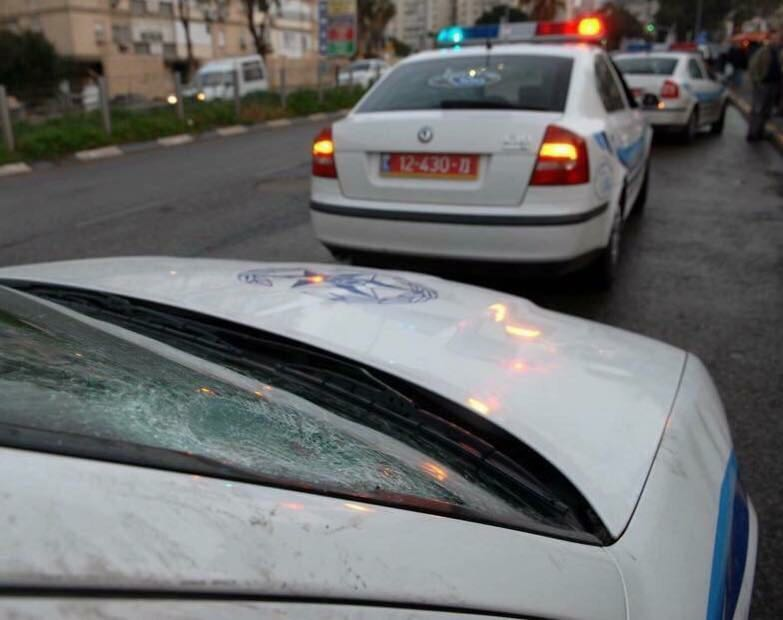 פעילות משטרתית (צילום: דורון גולן)