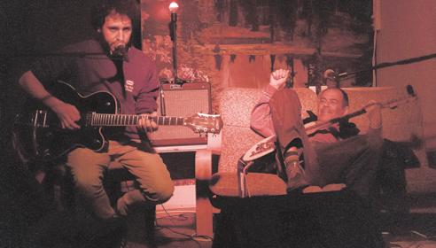 זאב טנא וקוסטה קפלן בפלסטר (צילום: יוס סטייבל)