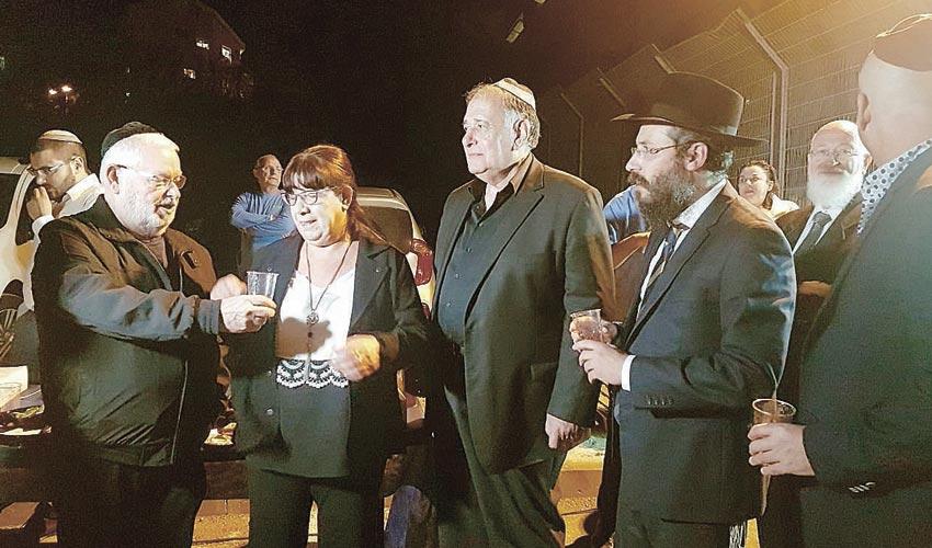 חנוכת בית הכנסת על שם אלעד ריבן