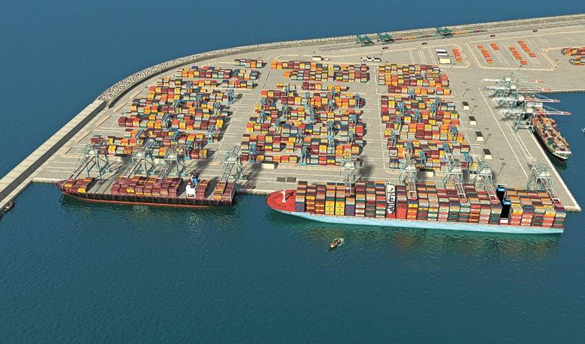 נמל המפרץ (הדמיה: סטודיו HUE 3D)