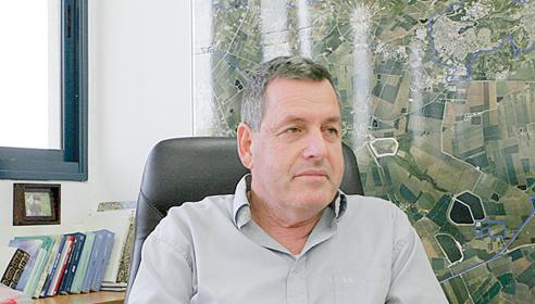 ראש המועצה האזורית עמק יזרעאל אייל בצר (צילום: רינת אברג'יל)