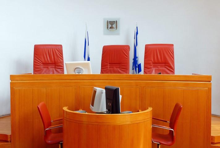 """אולם בית המשפט העליון (צילום: מארק ניימן/לע""""מ)"""