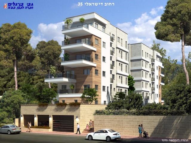 הפרויקט ברחוב ד'ישראלי 35 (הדמיה: משרד תמיר אדריכלים)