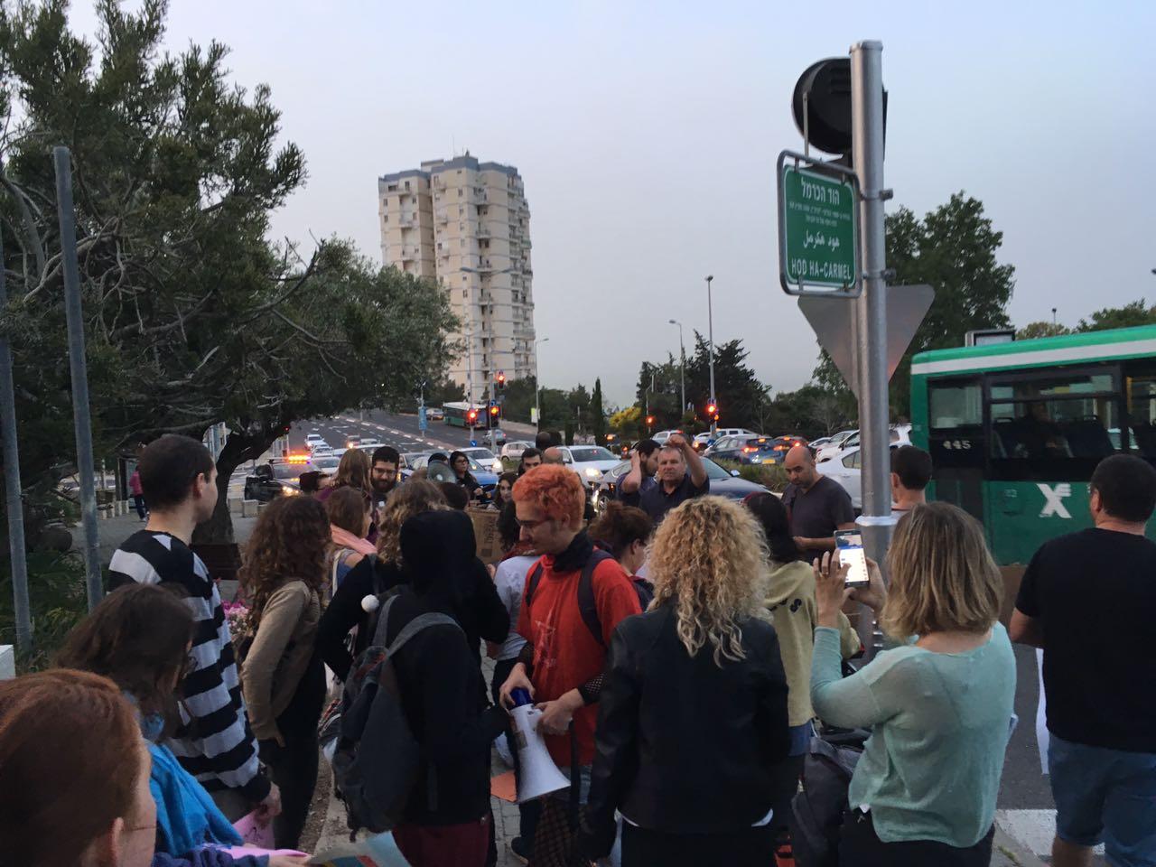 ההפגנה נגד הופעותיו של אייל גולן (צילום: בוריס לוינשטיין)