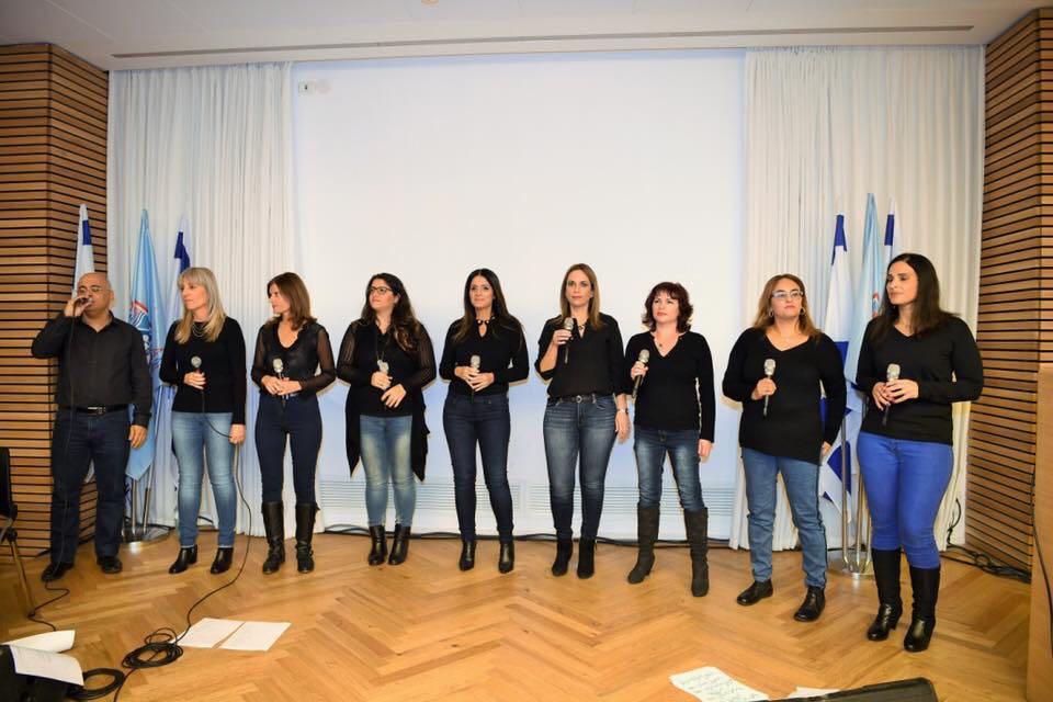 להקת קולות חיפה (צילום: חיה ארד יונאי)