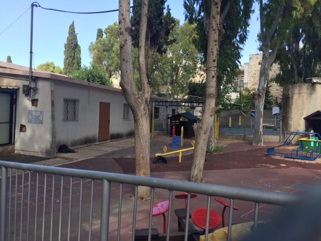 אשכול הגנים ברחוב אנילביץ' (צילום: שושן מנולה)