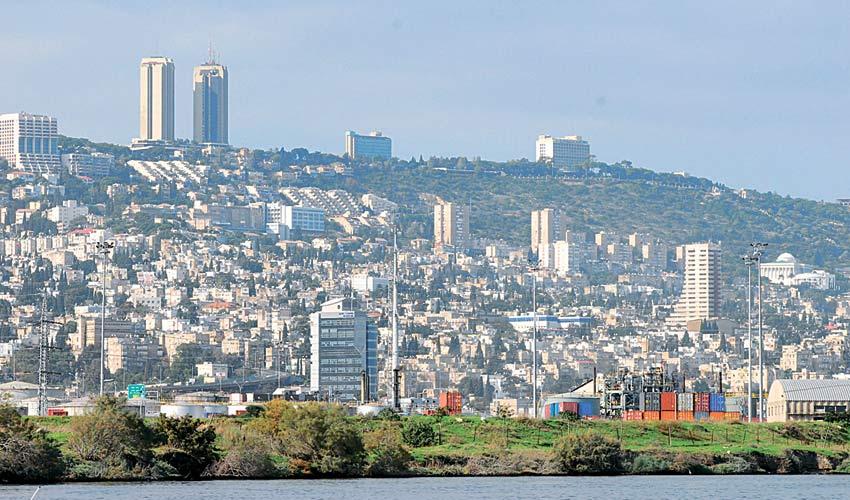 חיפה, מבט כללי (צילום: ירון צור לביא)