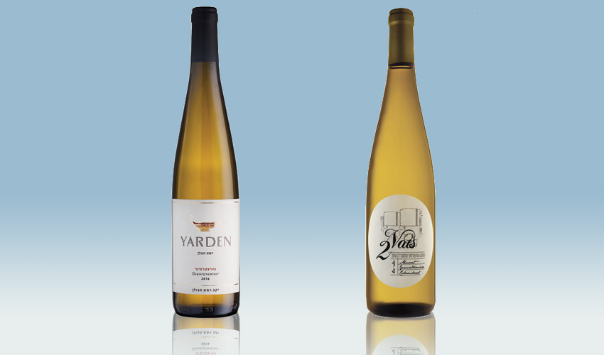 יינות: יקבי כרמל 2vats לבן 2016, ירדן גוורצטרמינר 2016.