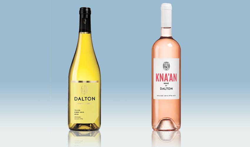 יינות: דלתון כנען רוזה 2016, דלתון פינו גרי 2016.