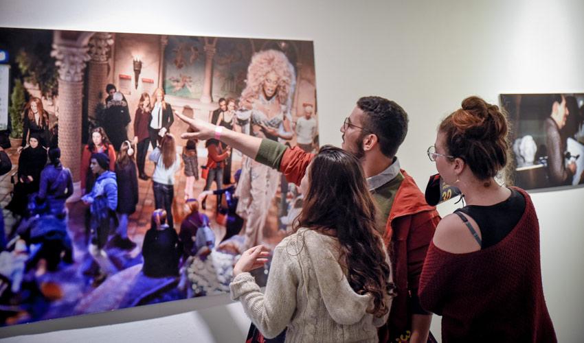 מוזיאון חיפה לאמנות (צילום: גלית רוזן)