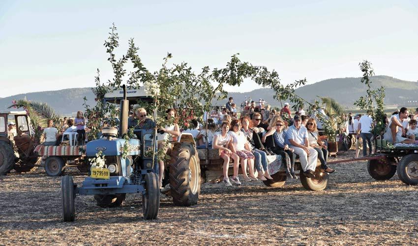 פסטיבל חלב ודבש בעמק יזרעאל (צילום: דוברות המועצה המקומית עמק יזרעאל)