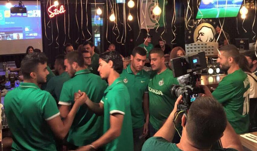 שחקני מכבי חיפה משחקים פלייסטיישן. גם שם הם הפסידו?