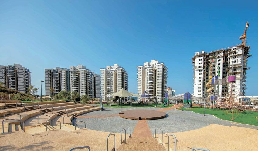 שכונת רמת הנשיא בחיפה (צילום: חברת גב-ים)