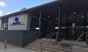 תחנת הרכבת בקרית מוצקין, מבט מבחוץ (צילום: רכבת ישראל)