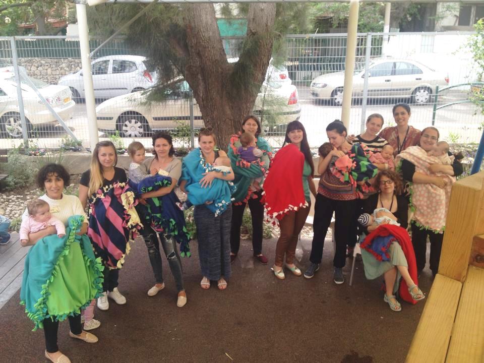 """פעילות עם אמהות ב""""הורים במרכז"""""""