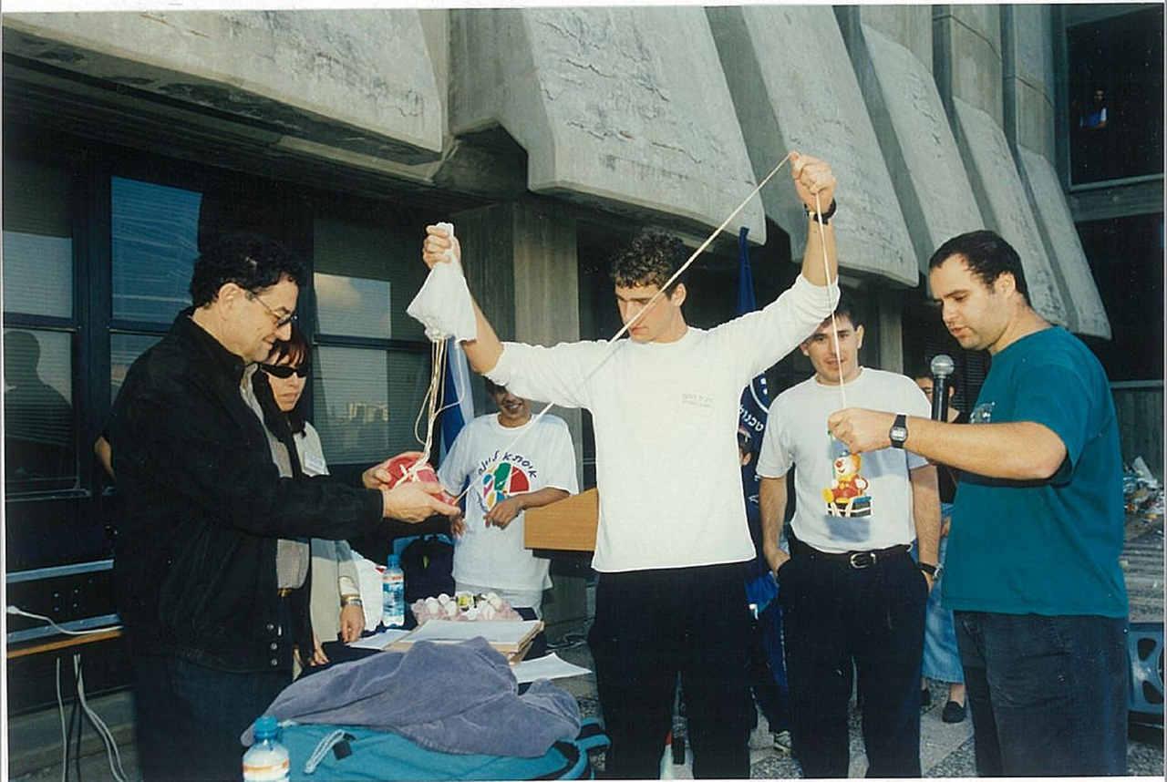 תחרות הביצקופטר בשנת 1997 (צילום ארכיון: דוברות הטכניון)