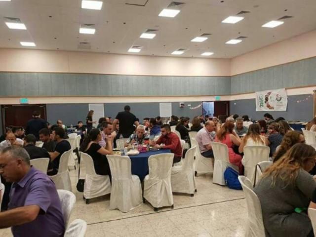 האירוע המשותף בטמרה (צילום: בית הספר ליאו באק)