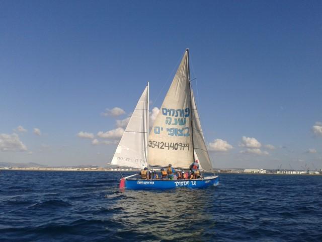 פעילות של צופי הים חיפה (צילום: צופי ים)