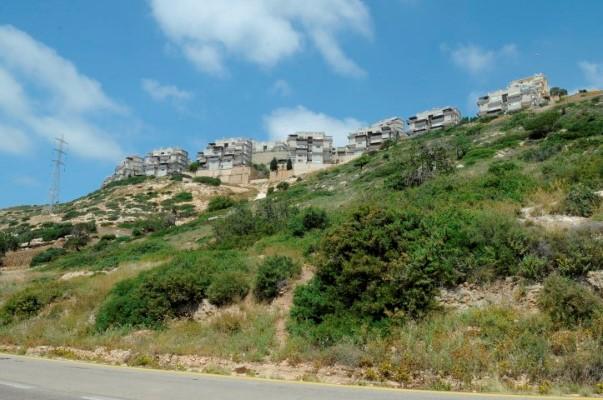 האזור שבו יעבור כביש כבביר-נוה דוד (צילום: רמי שלוש)