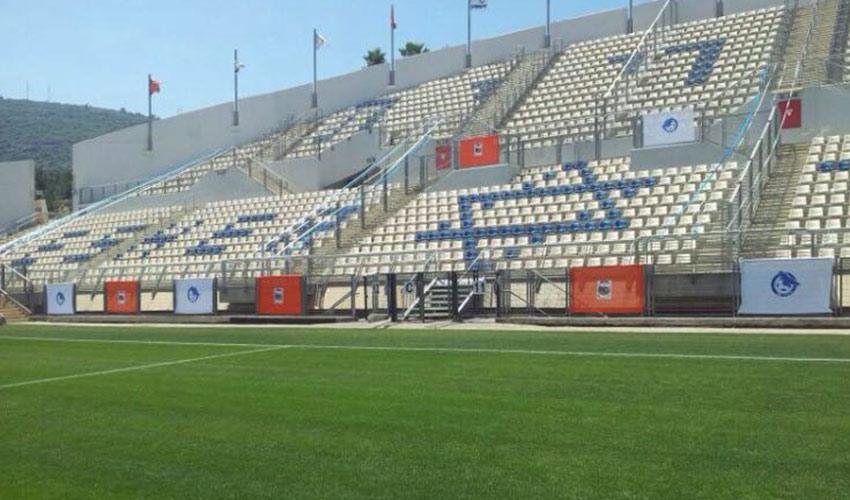 האיצטדיון העירוני בנשר. הבית החדש של מ.ס רובי (צילום: דוברות עירוני נשר)