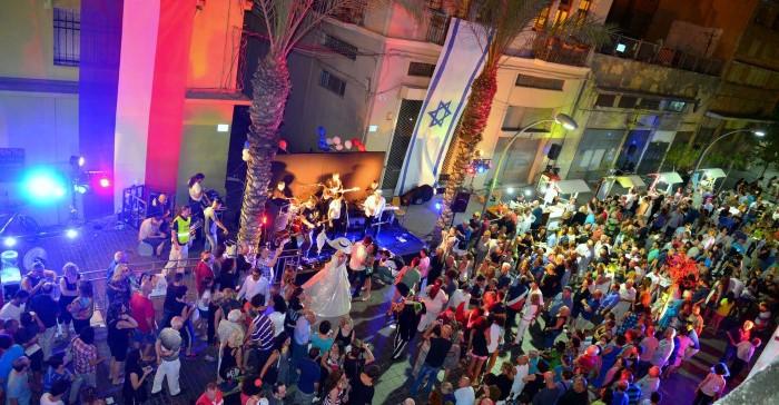 יום הבסטיליה בחיפה (צילום: דוברות עיריית חיפה)