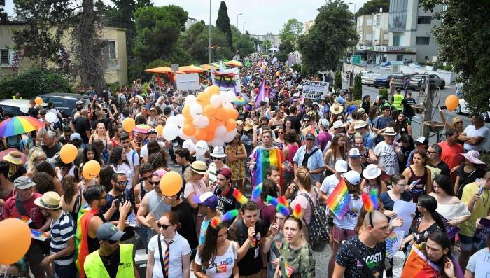 מצעד הגאווה חיפה 2017 (צילום: ראובן כהן)