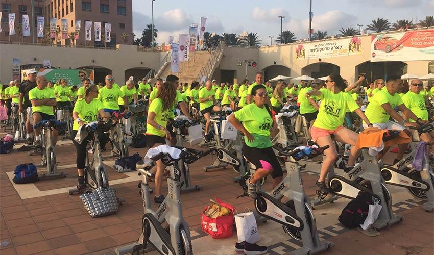 מרתון הספינינג של חיפה. יהפוך למסורת?
