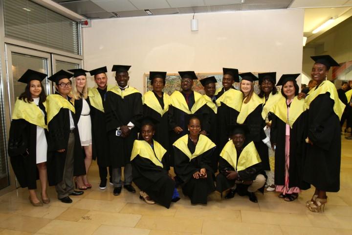 סטודנטים בתוכנית הבין לאומית להתפתחות הילד (צילום: דוברות אוניברסיטת חיפה)
