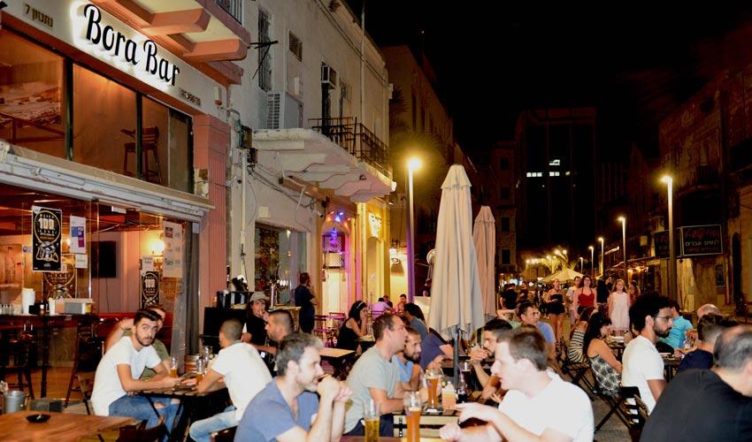 רחוב נתנזון (צילום: דוברות עיריית חיפה)