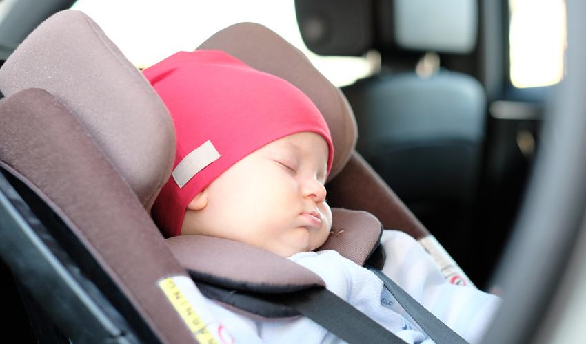תינוק ברכב (צילום: א.ס.א.פ קריאייטיב INGIMAGE)