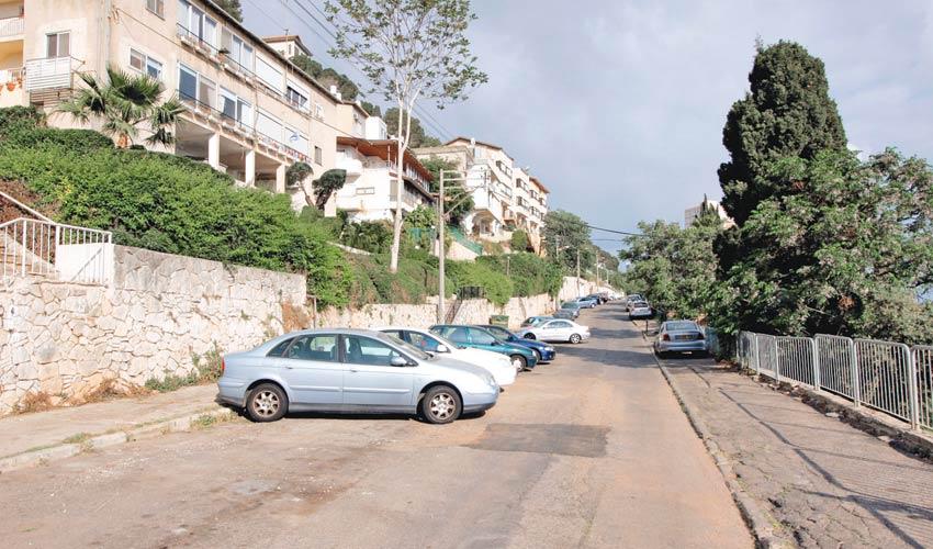 רחוב הצלבנים (צילום: קובי פאר)