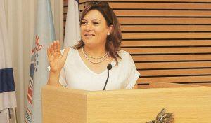"""אילנה טרוק. """"לא קושי אלא אתגר של בנייה"""" (צילום: דוברות עיריית חיפה)"""