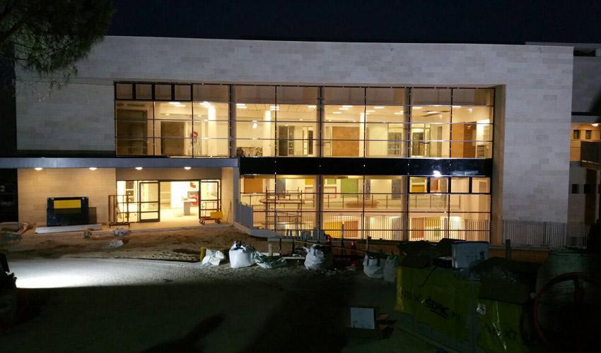 בית אליהו בקמפוס אחוזה של הריאלי, שבקומתו הראשונה ייפתח גן הילדים