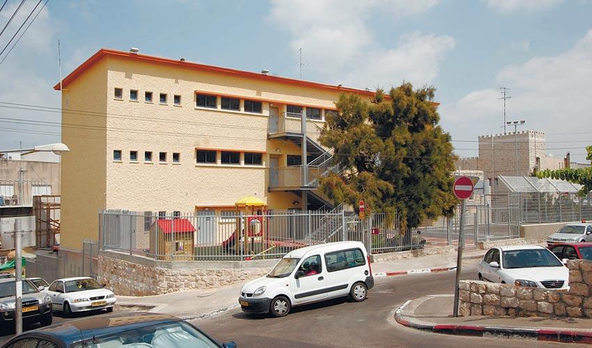 בית הספר אל-חיואר (צילום: קובי פאר)