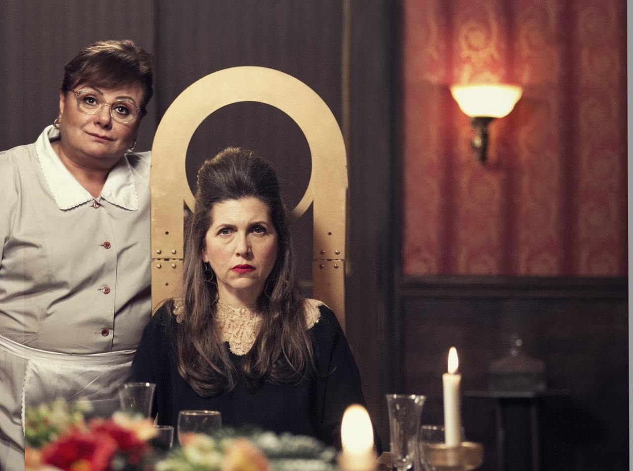 """מתוך הסרט """"המועדון לספרות יפה של הגברת ינקלובה"""" (צילום: יח""""צ)"""