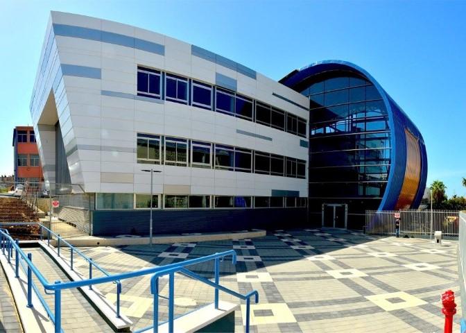 המרכז הטכנולוגי בנוה דוד (צילום: צבי רוגר)