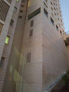 הבניין ברחוב התאנה 9 בנשר