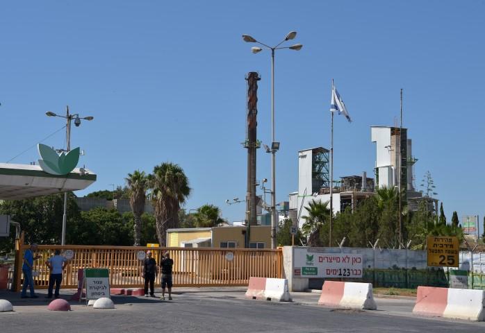 מפעל חיפה כימיקלים (צילום: גיל אליהו)