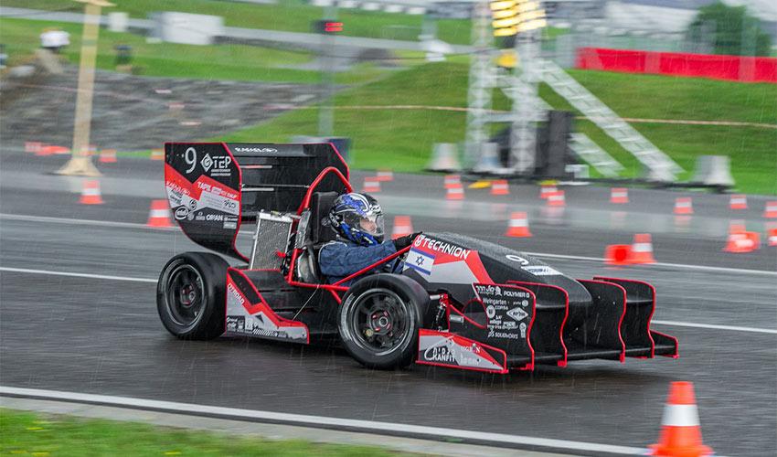 מכונית הפורמולה של הטכניון (צילום: דוברות הטכניון)