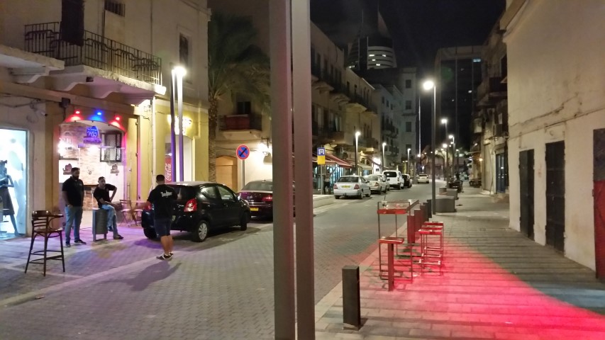 רחוב נתנזון (צילום: שי אילן)