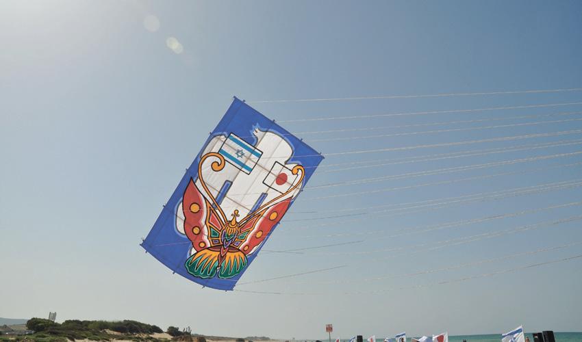 """עפיפון קרב (צילום: יח""""צ)"""