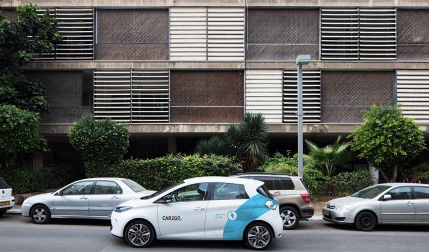 המכונית החשמלית של מיזם הרכב השיתופי (צילום: חברת Car2Go)