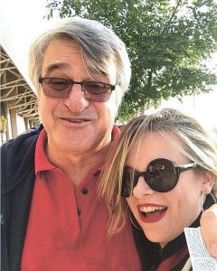 """עם אביה ד""""ר משה לוינקופף."""